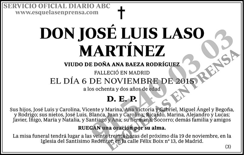 José Luis Laso Martínez